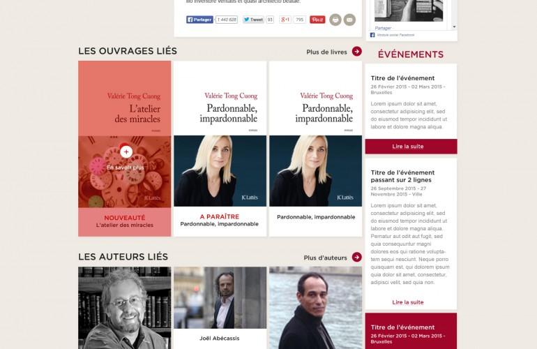 Les éditions JC Lattès